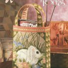 Annie's Attic Victorian Totes,   Plastic Canvas Pattern Leaflet #87K21
