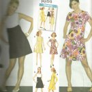 Simplicity pattern 3833 Retro Misses Dress Pattern 1960's Size R5- 14,16,18,20,22.