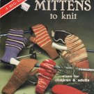 Mittens to Knit 2-Needle American School of Needlework 6015 EASY Knitting Pattern