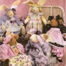 Simplicity 4594 Erica Grace Designer Bunnies Bears Clothes Sewing Pattern