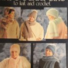Hats Scarves Sets to knit and crochet Leisure Arts 686 Pattern
