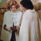 Capes l Retro Crochet Knitting Pattern Leisure Arts 53