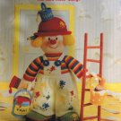 Jean Greenhowe's Knitted Clowns The Red Nose Gang Knitting Pattern