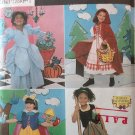 Simplicity 8356  Costume Pattern For Child sizes 3 - 8 Riding Hood Snow White Cinderella Princess