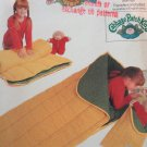 Butterick 3045 Cabbage Patch Kids Sleeping Bag Slumber Bag Sewing Pattern