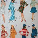 McCall's 8531 Doll Clothes Wardrobe for fashion doll Francie Vintage Pattern 1966