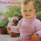 Peter Pan Baby Knits 5 Darling Dolly Mixtures Knitting Pattern  UK terms