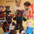 Leisure Arts 242 Story Book Puppets to Crochet Pattern designed by Judy Bolin