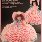 Mary Had A Little Lamb Pillow Doll Bed Doll  Crochet Pattern  Fibre Craft FCM164
