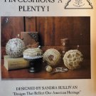 Homespun Elegance  Pin Cushions A Plenty Cross Stitch Chart Pattern.