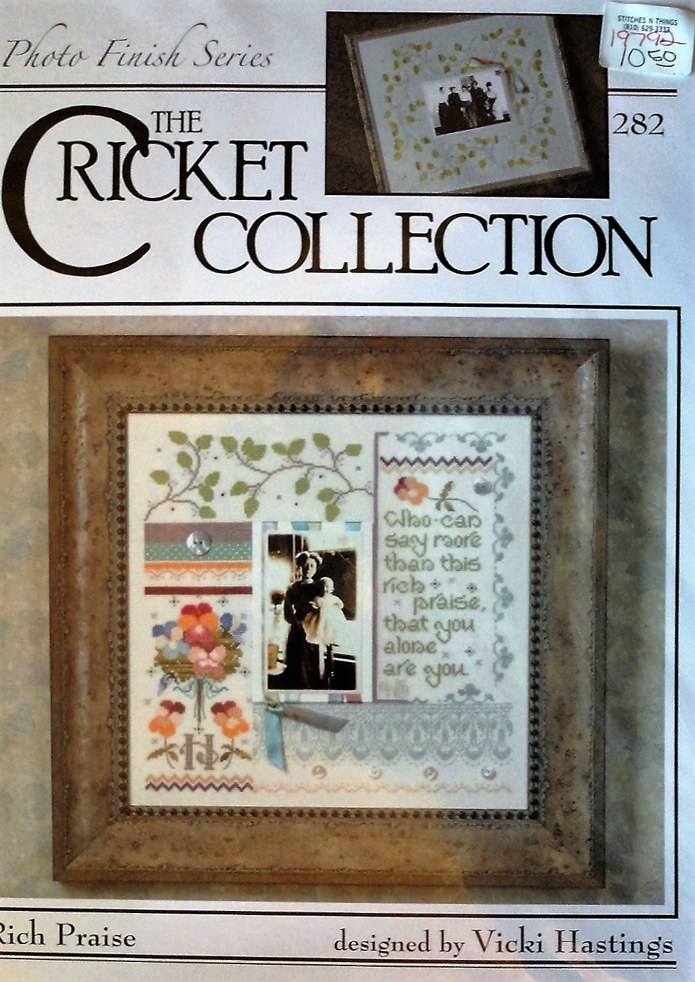 The Cricket Collection no. 282 Rich Praise photo finish Series