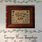 Green Tree Cross Stitch Chart Carriage House Samplings Barrick