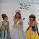 Butterick 6935 Childrens Costume sewing pattern Snow White Fairy Princess