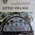 Little Village Sampler Cross Stitch from Ann Taylor Nelson Designs