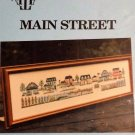 Main Street Sampler Cross Stitch from Ann Taylor Nelson Designs