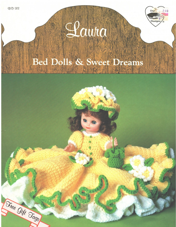 Dumplin Designs Bed Doll Crochet Pattern Nora BD505