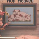 Hog Heaven Cross Stitch Pattern Cotton Boll Creations CBC12