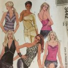 Halter Tops Camisole Sewing Pattern McCall's 3442 Size Medium - Large