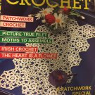 Decorative Crochet Number 11 September 1989, Filet Doilies,  Table Runners, Tablecloths