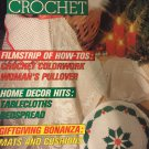 Magic Crochet Pattern Magazine Number 68 October 1990 Christmas Projects, Doilies