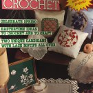 Magic Crochet Pattern Magazine Number 40 February 1986 Celebrate SpringIssue