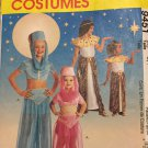 McCall's 9451 child costumes; Genie Cleopatra   Size 3-4