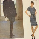 Vogue 1547 Sewing Pattern Geoffrey Beene  American Designer, Jacket  and Dress 14, 16. 18