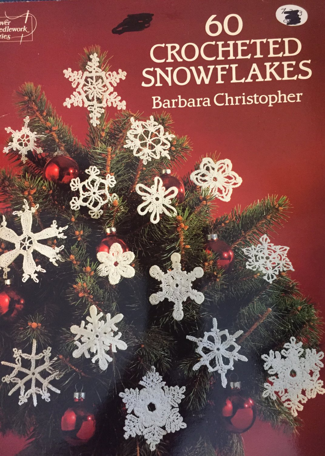 60 Crocheted Snowflakes by Barbara Christopher Dover Needlework Series Thread Crochet Patterns