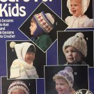 Caps for Kids Leisure Arts 723 Hats to knit and crochet pattern for children