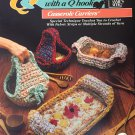 Annie's Attic  652A Quick & Easy with a Q Hook crochet Casserole Carriers