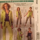 McCall's M5432 Wardrobe Sewing Pattern sizes 16 - 24 Tops, pants, capris, jacket