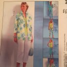 McCall's 4844  Summer Clothes Sewing Pattern, Capris, Jacket, Top, Skirt, Pants, Sizes 16 - 22