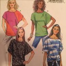 Misses' Top Loose-Fitting Butterick Pattern B5753 Size zz Lrg, XL, XXL