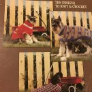 Leisure Arts 934 Dog Sweaters 10 designs to knit or crochetby Carol Carvalho