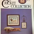 The Cricket Collection #5 Sampler Geese cross stitch pattern