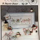 A Frosty Feast No. 29 Crossed Wing Collection By Paula Minkebige Cross Stitch Pattern