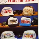 Hats for Him Cross Stitch Pattern Cross my Heart CSB-70 Baseball Caps