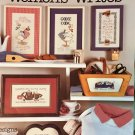 Leisure Arts 527 Cross Stitch Pattern Woman's Writes