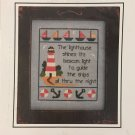 Prairie Grove Peddler cross stitch chart #34 The Lighthouse by Cheryl Haynes