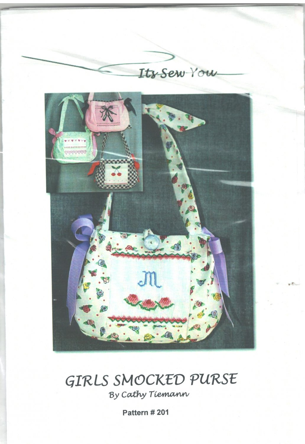 Girls Smocked Purse Sewing Pattern Cathy Tiemann