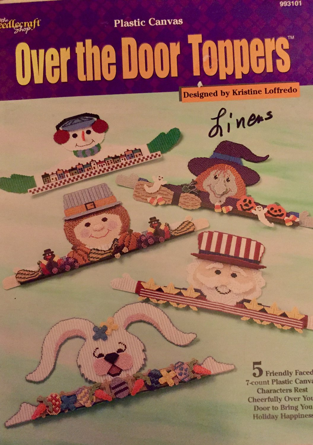 Over the Door Toppers  Plastic Canvas Pattern The Needlecraft Shop 993101