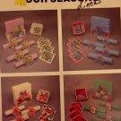 Four Seasons Plastic Canvas Pattern Needlecraft Ala Mode Leaflet 156 Coasters, napkin holder s