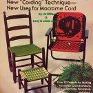 Macrame Lawn Chairs Pattern Furniture Fanfare Plaid Enterprises 7516