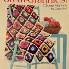 Leisure Arts 4429 Great-Grannies 7 Scrap Afghans to Crochet