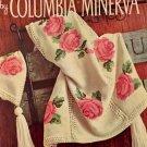 Vintage Afghans Crochet Pattern Columbia Minerva Book 742
