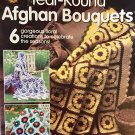 Annie's Attic Year Round Afghan Bouquets Crochet Pattern for 6 floral afghans 874509