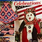 Red, White, & Blue Celebrations Crochet Pattern Annies Attic 875510