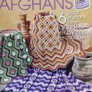 Southwest Desert Ripple Afghans Crochet Pattern 6 designs Annie's Attic 873712
