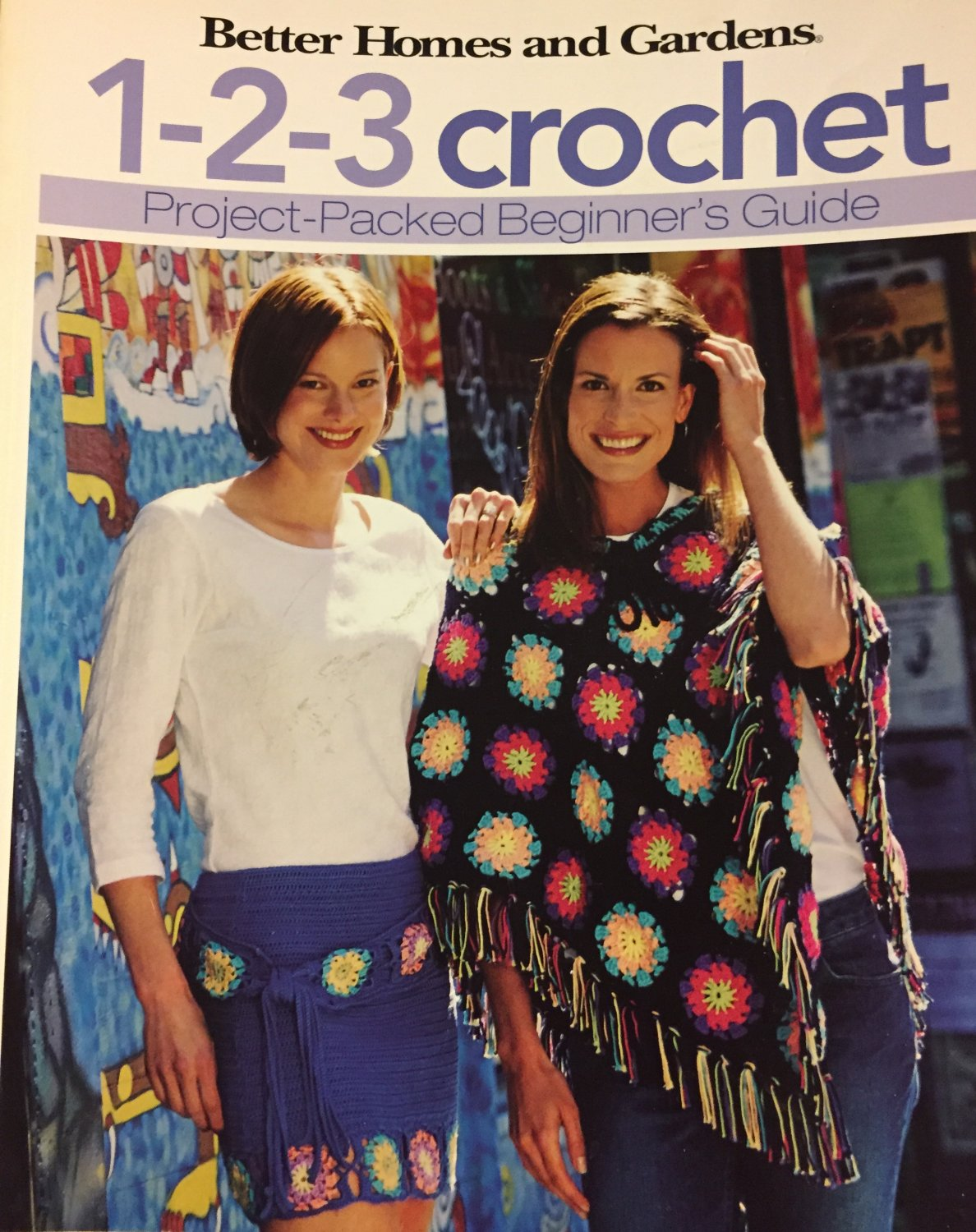 Better Homes and Gardens 1 2 3 Crochet Project Packed Beginner's Guide Pattern