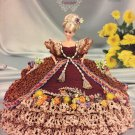 Annie's Glorious Gowns Flower Garden Collection Fashion Doll gown Calendula